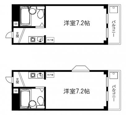 マンション(建物全部)-大阪市東淀川区瑞光3丁目 ☆間取り☆