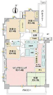 中古マンション-板橋区西台4丁目 間取り