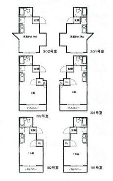 マンション(建物全部)-神戸市須磨区須磨寺町1丁目 間取り