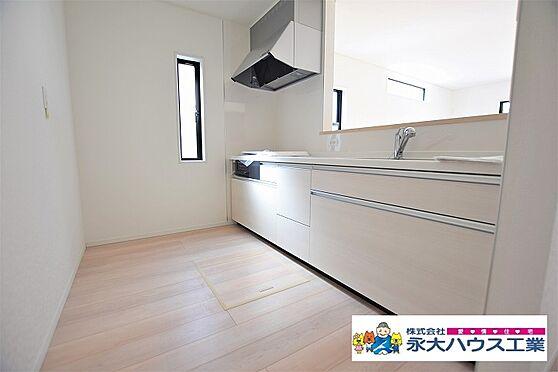新築一戸建て-仙台市若林区上飯田2丁目 キッチン