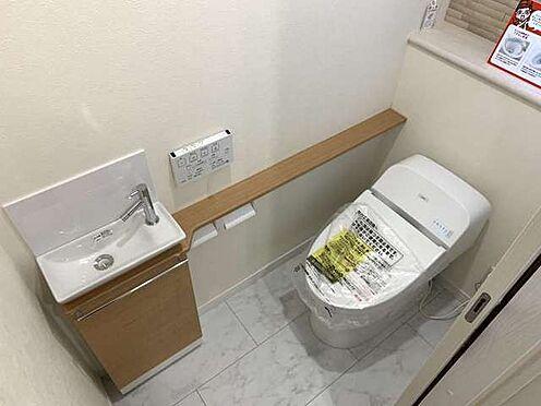 新築一戸建て-神戸市北区南五葉4丁目 トイレ