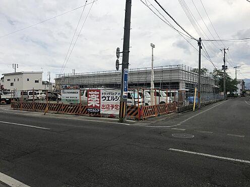 店舗(建物全部)-米沢市本町2丁目 建築中の現地画像