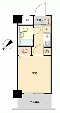 区分マンション-大阪市福島区海老江8丁目 間取り