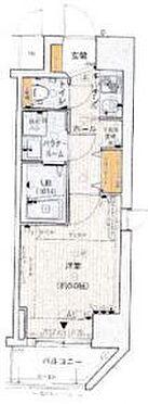 マンション(建物一部)-大阪市中央区上町 間取り