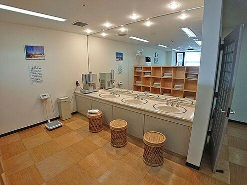中古マンション-賀茂郡東伊豆町奈良本 脱衣スペースも明るく清潔感がございます。