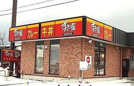 アパート-新発田市新栄町1丁目 すき家 7号新発田中曽根店(1148m)