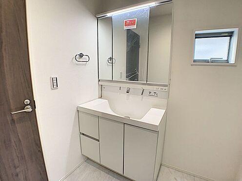 戸建賃貸-名古屋市南区呼続1丁目  洗面台(こちらは施工事例となります。)