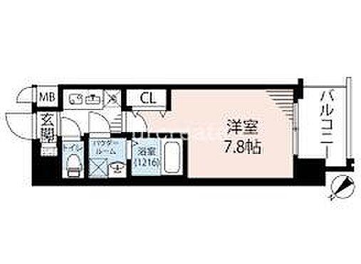 マンション(建物一部)-大阪市港区夕凪2丁目 間取り