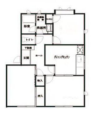アパート-川崎市高津区久地 間取り