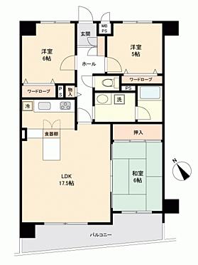 マンション(建物一部)-函館市大森町 間取り