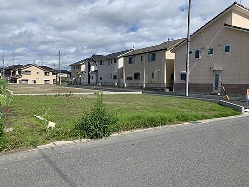 土地-一宮市今伊勢町本神戸字権現 現地写真(2021年6月撮影)間口10m以上のため駐車計画も立てやすいです。