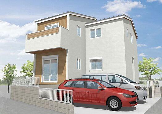 新築一戸建て-大野城市仲畑3丁目 ウッドデッキやカーポートなどの追加外構工事や、内装工事までワンストップで行うことが出来ます。