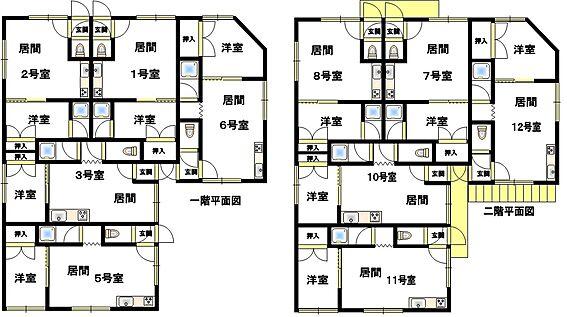 アパート-釧路市緑ケ岡2丁目 間取