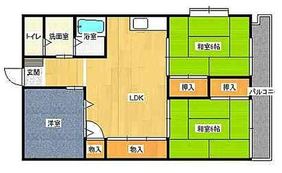 マンション(建物一部)-北九州市八幡西区岸の浦2丁目 オーナーチェンジ物件、表面利回り11.7%です。