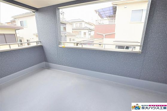 新築一戸建て-仙台市青葉区水の森2丁目 バルコニー