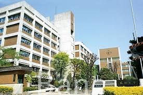 中古マンション-品川区旗の台2丁目 私立昭和大学旗の台キャンパス 徒歩6分。 440m