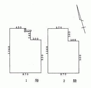 アパート-釧路市緑ケ岡2丁目 間取り