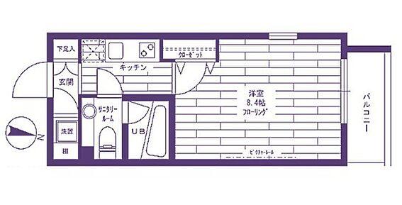 マンション(建物一部)-調布市上石原3丁目 間取り