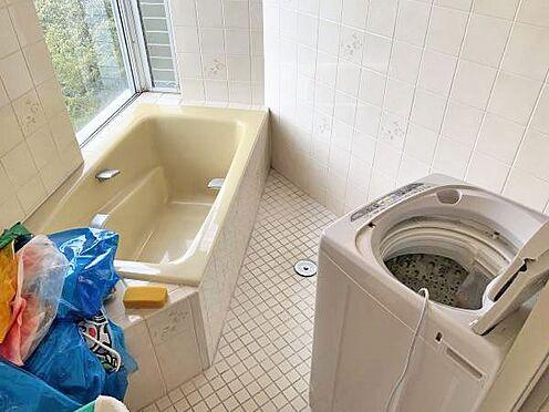 中古マンション-伊東市富戸 ≪浴室≫ 現在、洗濯機はこちらにあります。