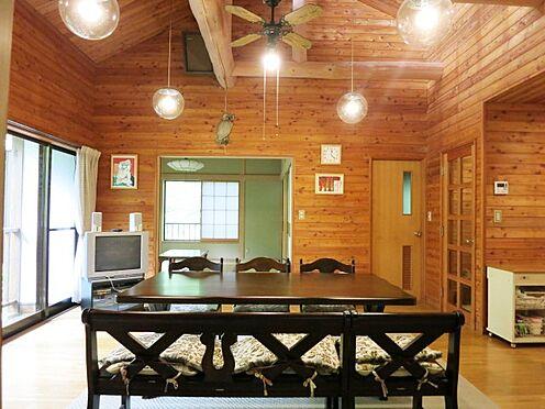 中古一戸建て-北佐久郡軽井沢町大字長倉 コンパクトに見えても高さがあることで開放的な室内です。