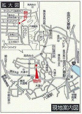 ビル(建物全部)-横浜市金沢区高舟台1丁目 地図