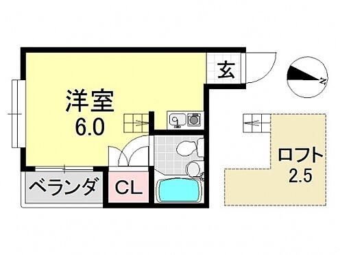 一棟マンション-大阪市平野区平野東1丁目 間取り