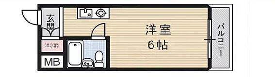 マンション(建物一部)-大阪市淀川区野中北1丁目 間取り