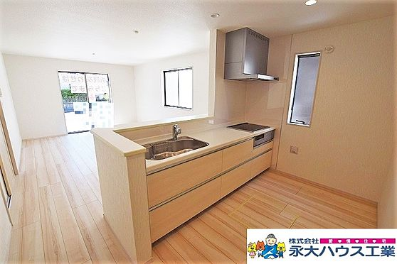 新築一戸建て-岩沼市平等3丁目 キッチン