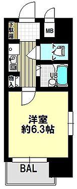 区分マンション-大阪市中央区上町1丁目 使い勝手の良い2点セパレート