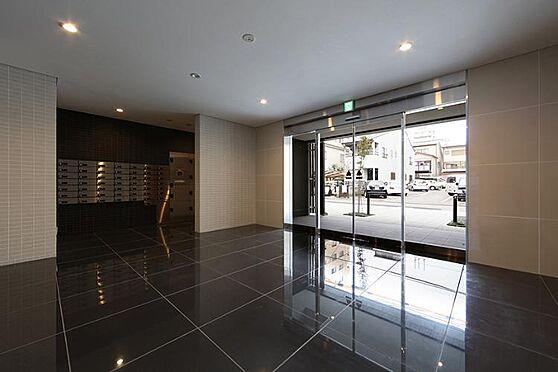 マンション(建物一部)-京都市上京区元4丁目 広々としたエントランス。