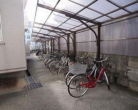 マンション(建物一部)-神戸市東灘区魚崎南町2丁目 雨風で汚れない駐輪スペース