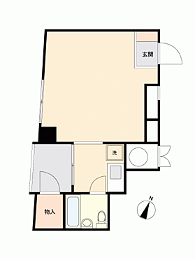 マンション(建物一部)-横浜市中区伊勢佐木町4丁目 間取り