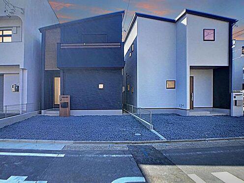 新築一戸建て-名古屋市北区辻町8丁目 上飯田駅まで徒歩13分の立地です。駐車並列2台確保できます!
