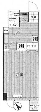 中古マンション-新宿区西新宿4丁目 間取り
