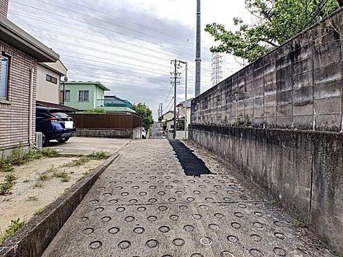 土地-名古屋市緑区桶狭間西 前面道路を含む現地写真