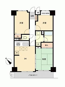 中古マンション-熊谷市久下 間取り