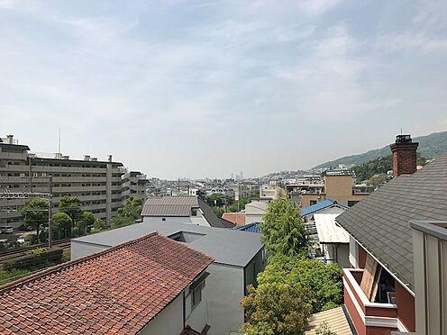 アパート-芦屋市岩園町 3階リビングからの眺望