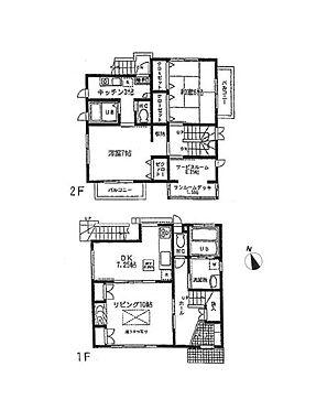 店舗付住宅(建物全部)-横浜市南区永田台 間取り