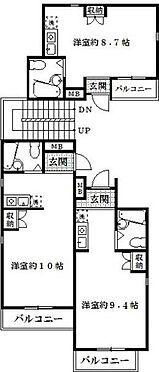 アパート-名古屋市中川区中野新町2丁目 間取り