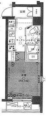 区分マンション-江東区毛利2丁目 間取り