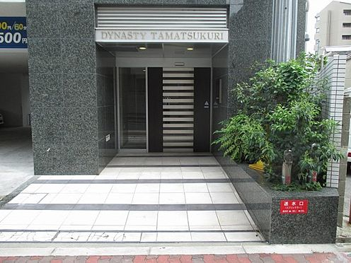 中古マンション-大阪市東成区玉津1丁目 エントランスアプローチです