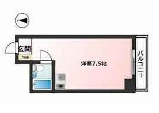 区分マンション-大阪市中央区高津2丁目 図面より現況を優先します。