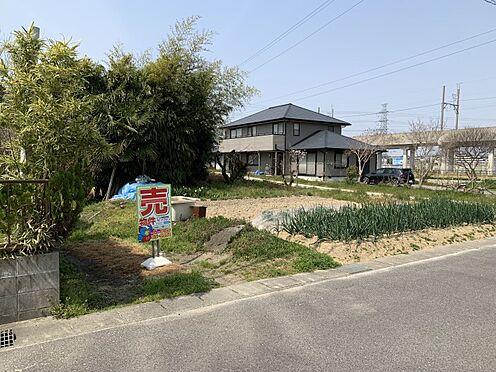土地-豊田市荒井町寿田 前面棟無し、日当たり良好です!