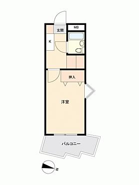 区分マンション-熊本市中央区水前寺2丁目 間取り