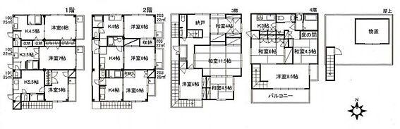 マンション(建物全部)-新宿区北新宿1丁目 間取り