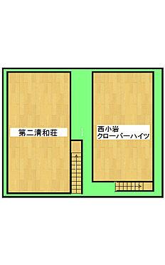 店舗付住宅(建物全部)-江戸川区西小岩3丁目 区画図