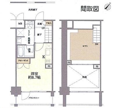 マンション(建物一部)-大阪市西淀川区姫里1丁目 間取り