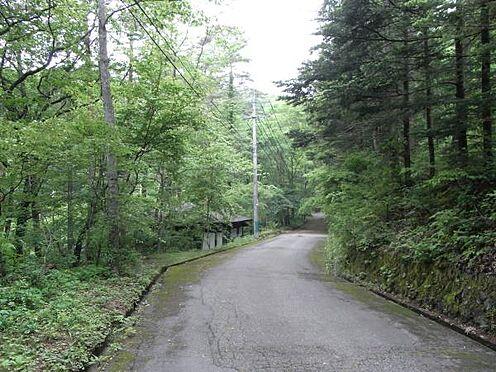 土地-北佐久郡軽井沢町大字長倉 趣のある別荘地の雰囲気を醸し出しています。