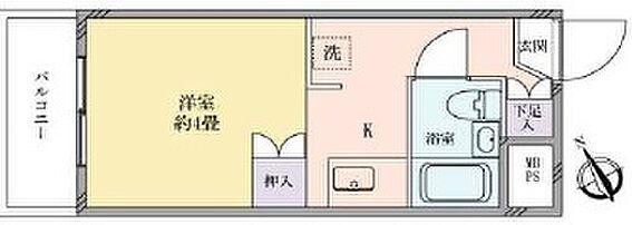 マンション(建物一部)-横浜市磯子区磯子 間取り