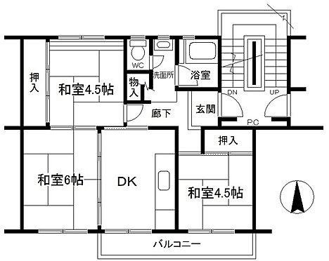 マンション(建物一部)-松戸市小金原7丁目 間取り